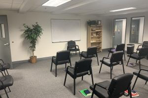 Baystate Recovery Center Meeting Room
